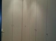 armadio mansarda ad angolo
